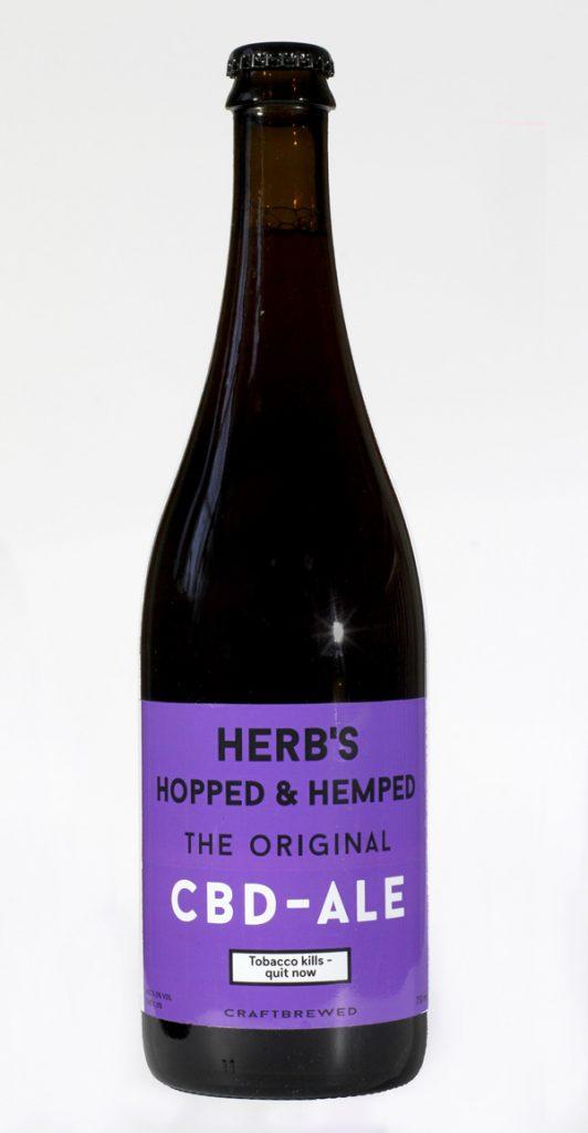 Herb's Hopped & Hemped CBD bier
